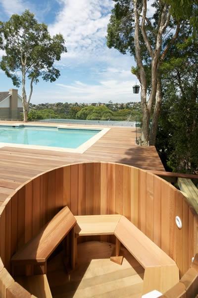 Ukko Cedar Hot Tub in Killarney Heights NSW