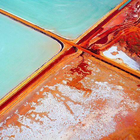 Salt Dampier, Western Australia  #westernaustralia #aerial #landscape #texture
