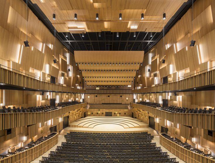 Galeria - Centro Cultural e Sala de Concertos em Malmö / Schmidt Hammer Lassen Architects - 4