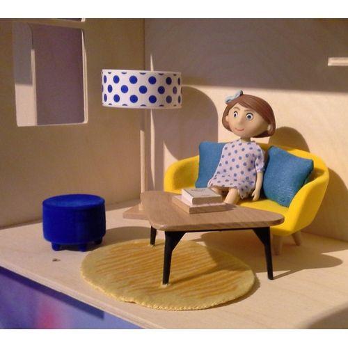 Le Salon ::mebelki dla lalek do salonu marki Djeco (do kupienia na www.fufurufu.pl)