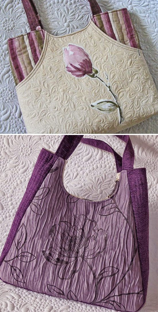 Learn to sew long-lasting quilted bags with professional look.Анна Передистова
