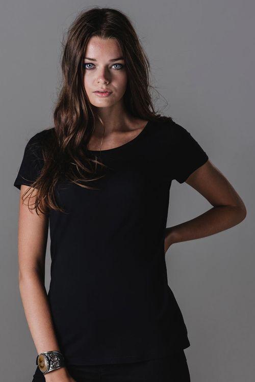Tricou damă Organic Mantis din 100% bumbac (jerseu simplu) #tricouri #personalizate #femei #promotionale #imprimate #brodate
