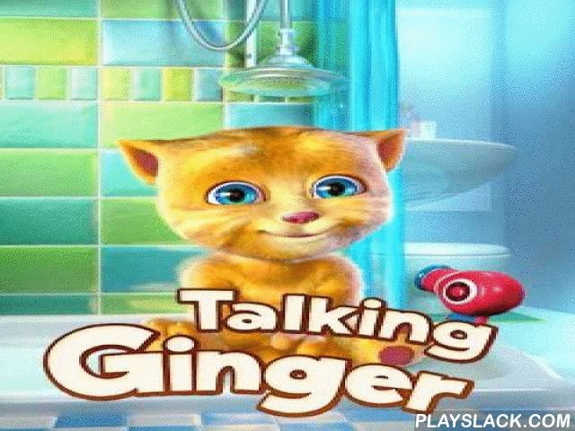 Talking Ginger  Android Game - playslack.com ,  Talking Ginger  is a humorous use for inclinations on the base of Android. It is advanced and high time for the atomic Ginger to go to supplied . It is essential to take a shower, get adust, and also vegetation your sets and go potty. You are to assist him! When you assist him with all the above mentioned influences the brand-new imaginations of the feline will be opened . It is essential to open 50 imaginations on the whole. humorous feline…