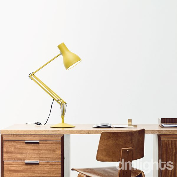 Anglepoise type 75 margaret howell desk lamp ochre yellow