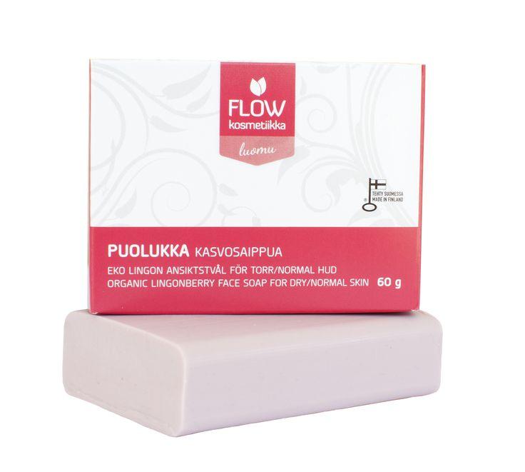 Lingonberry facial soap http://www.flowkosmetiikka.fi/epages/vilkas02.sf/en_GB/?ObjectPath=/Shops/20110413-11092-34237-1/Products/140