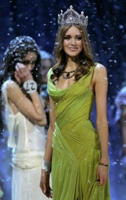 Ksenia Sukhinova – Miss World for 2008, Russia