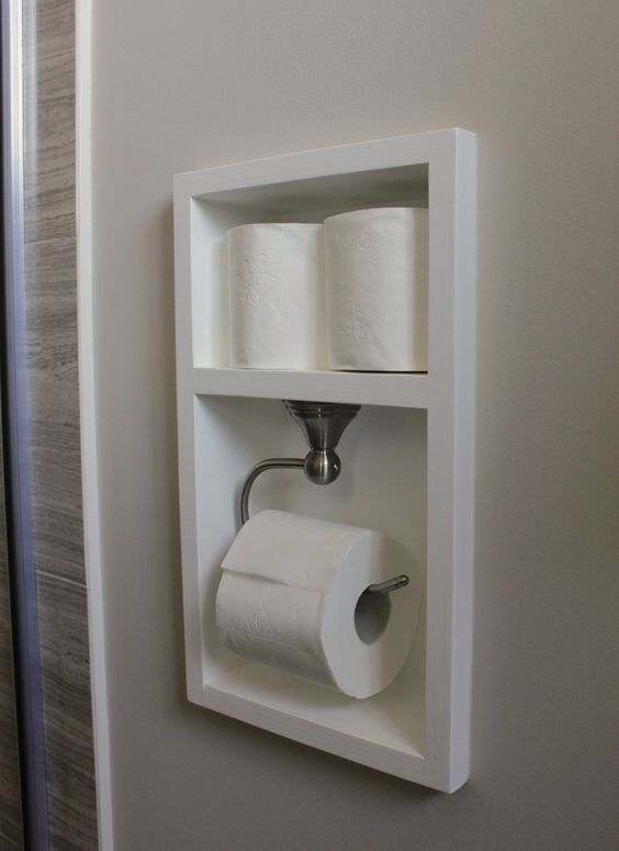 Best Toilet Paper Storage Ideas On Pinterest Half Bathroom - Washroom storage for small bathroom ideas