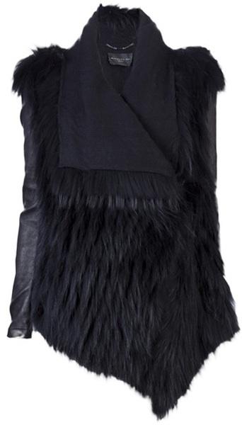 BARBARA BUI Fur Jacket