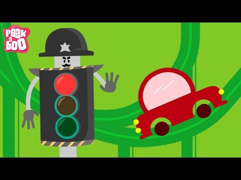 Traffic Signal & Many More Nursery Rhymes For Children | Popular Nursery Rhymes Collection For Kids - YouTube