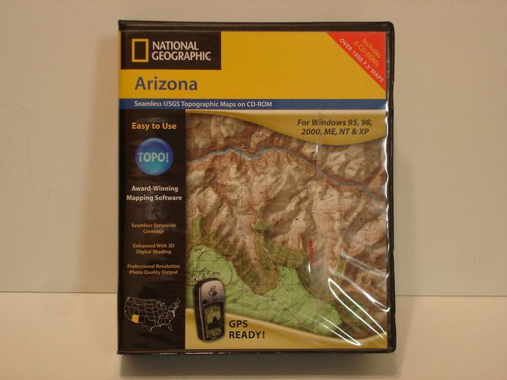 cool TOPO! Nationwide Geographic Arizona Topography Maps Mapping Software program CD-ROM   Check more at http://harmonisproduction.com/topo-nationwide-geographic-arizona-topography-maps-mapping-software-program-cd-rom/