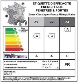 Lancement d'une étiquette énergie pour les fenêtres et les portes