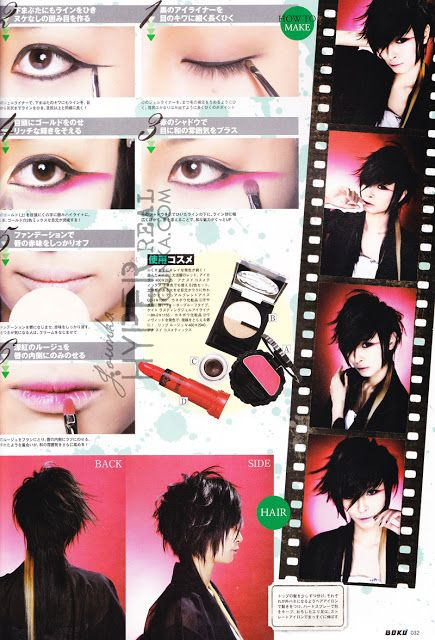 Japan's Visual Kei Hairstyles!