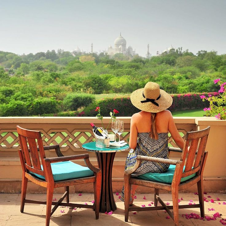 https://www.instagram.comb=travelplusstyleFrom our trip to India: in Agra we stayed at the Oberoi Amarvilas - and from our room we had a view to the amazing Taj Mahal mausoleum in Agra. Photo by @travelplusstyle