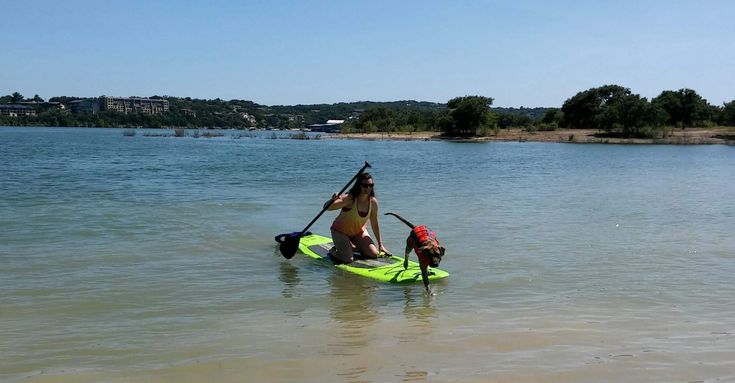 Paddleboard on Lake Travis - Lago Vista - A Stay Above the Rest - Relaxing Vacation - Luxurious Vacation - Time to get away - Lake life