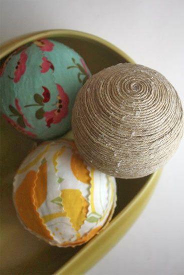 General Crafts : Factory Direct Craft Blog.   Use styrofoam balls !!