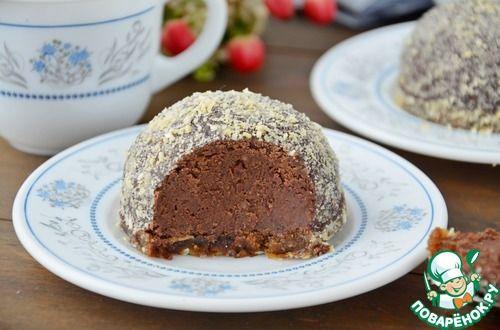 Пирожное фасолевое - кулинарный рецепт