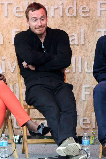 22 of Michael Fassbender's Best Faces -- Vulture