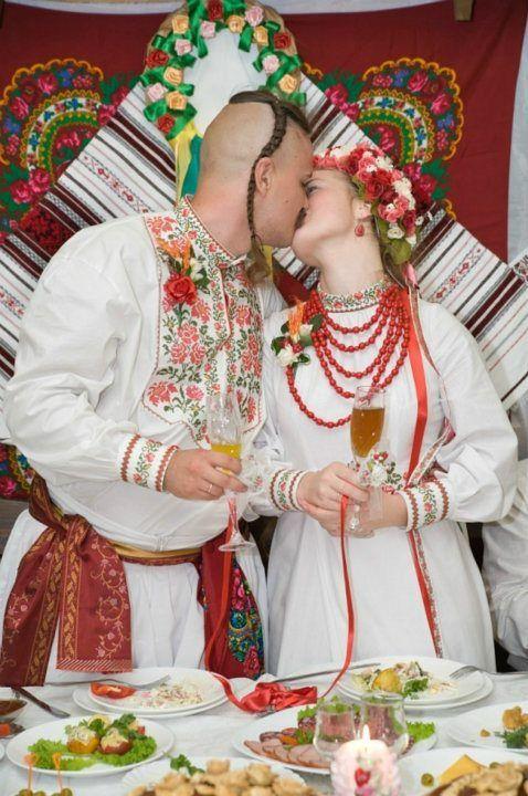 Ukrainian wedding / Ukrainian beauty / Ukrainian culture, Ukrainian traditions, Ukrainian style, Ukrainian roots