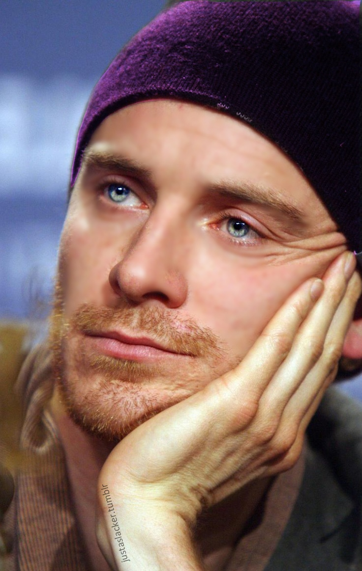 Unbelievable blue eyes!.....and hands...and fingers...and lips....and nose.....list goes on......
