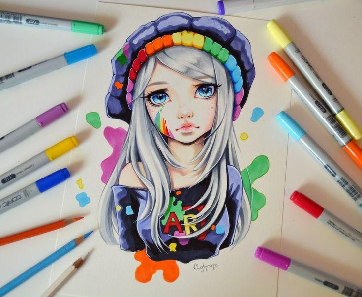 I am Art by Lighane.deviantart.com on @DeviantArt