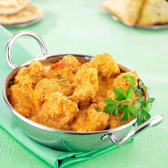 Découvrez la recette du poulet korma à l'indienne
