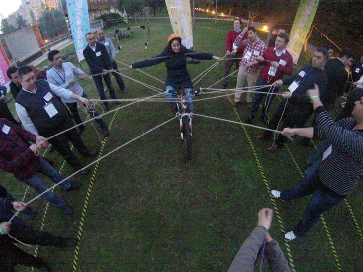 Ekip İçi Güven -Denge Bisikleti