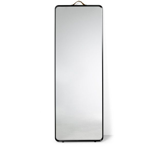 Menu New Norm floor mirror ($500) ❤ liked on Polyvore featuring home, home decor, mirrors, home & gardendecormirrors and menu stand