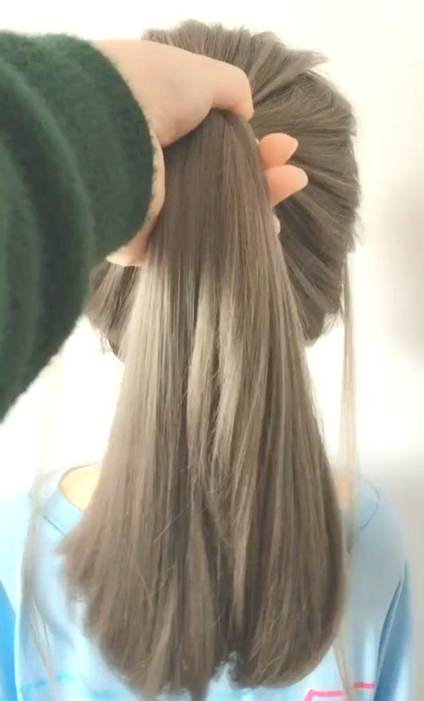 Hairstyles For Long Hair Videos Long Hair Video Hair Styles Hair Tutorial
