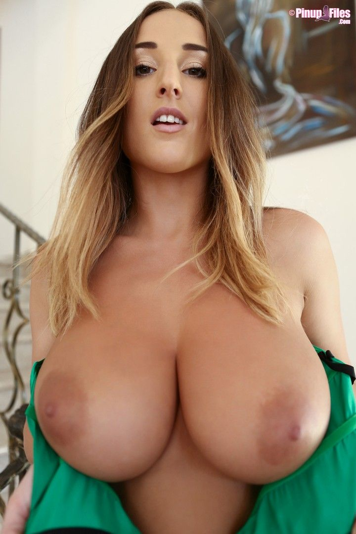 Naked women huge breasts