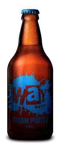 Cerveja Way Cream Porter - Cervejaria Way