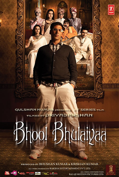 Bhool Bhulaiyaa (2007) old but funny and amazing
