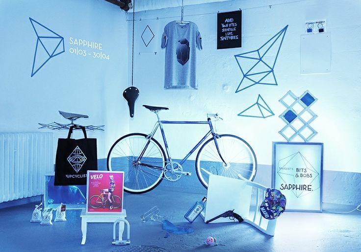 "Upcyclist's Bits&Bobs ""SAPPHIRE"""