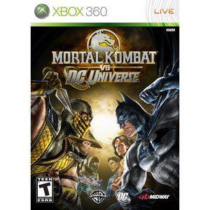 Good game but short story line - Mortal Kombat vs. DC Universe (Xbox 360)