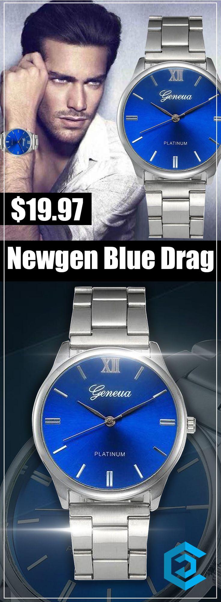 Newgen Blue Drag |affordable| |luxury| |mens| |simple| |watches for men| |unique| |design| #watches #luxury #fashion #unique