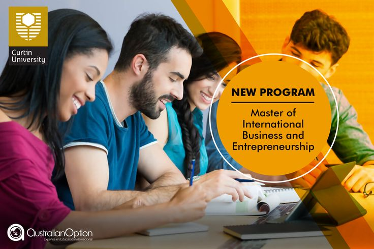 #CurtinUniversity te ofrece su nuevo programa en MASTER OF INTERNATIONAL BUSINESS AND ENTREPRENEURSHIP. No dejas pasar esta oportunidad, genera tu propia empresa y se parte de las nuevas oportunidades. Para más información comunícate con tu oficina AO más cercana o escríbenos a info@australianoption.com  #Business #workandtravel #travel #studyandtravel#overseas #internationalstudent #Australia #Perth#postgraduate #master #NewProgram