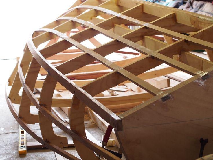 Frame for Donzi 16 Replica Wooden Speed Boat