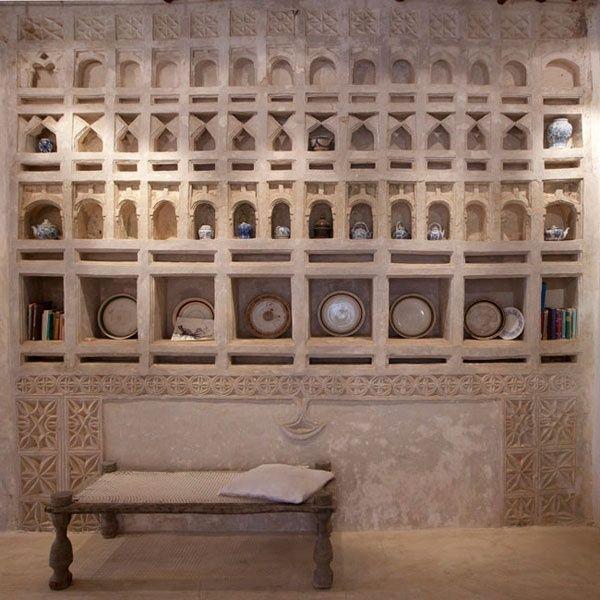 Swahili home plasterwork