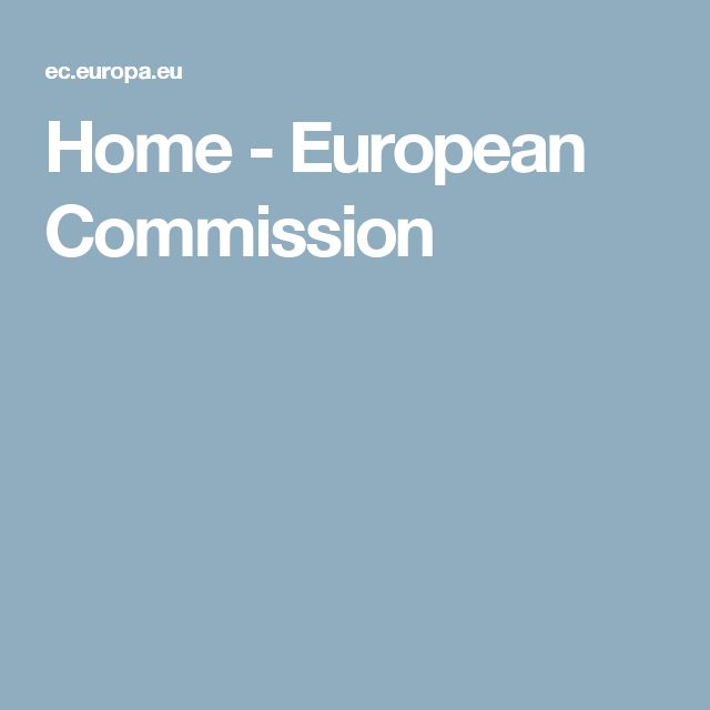 Home - European Commission