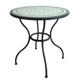 Beautiful Garden Treasures Pelham Bay X Steel Round Patio Dining Table