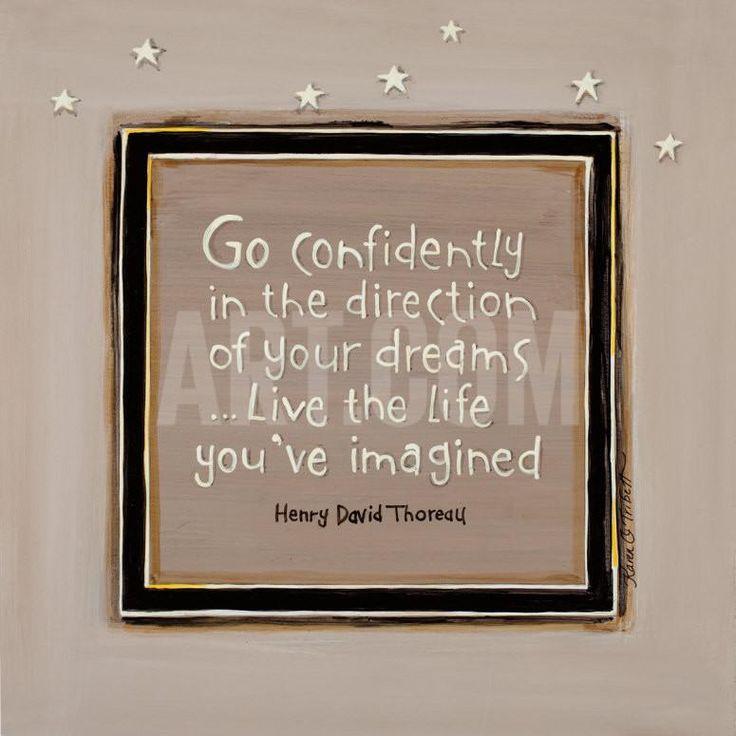 Go Confidently Art Print by Karen Tribett at eu.art.com