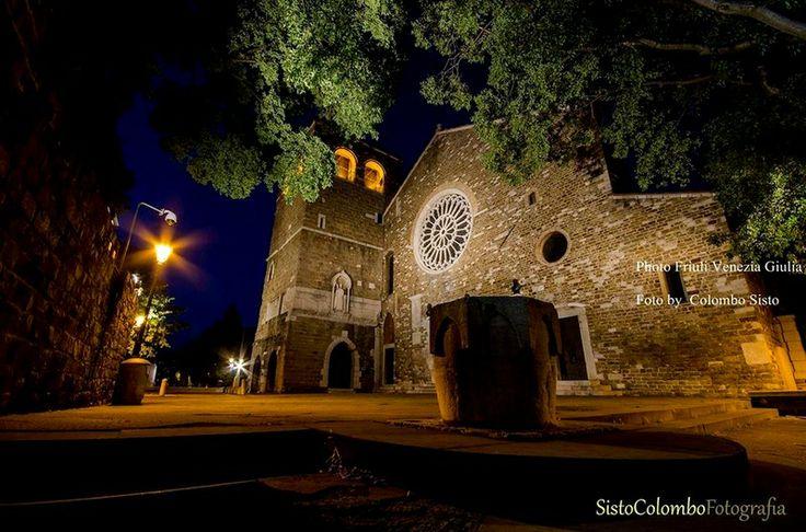 Trieste - Cattedrale di San Giusto-Colombo Sisto