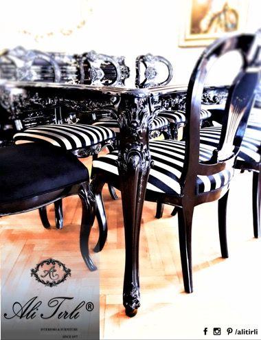 We bring elegance to your home with deliberately creative touches. #alitirli #design #artdeco #architecture #yemekodasitakimi #mimar #yemekmasasi #aksesuar #sandalye #home #istanbul #chair #artdeco #interiors #masko #klasikmobilya #furniture #konsol #florya #mobilya #perde #yesilkoy #bursa #duvarkagidi #kumas #azerbaijan #ayna #luxury #luxuryfurniture #interiorsdesign