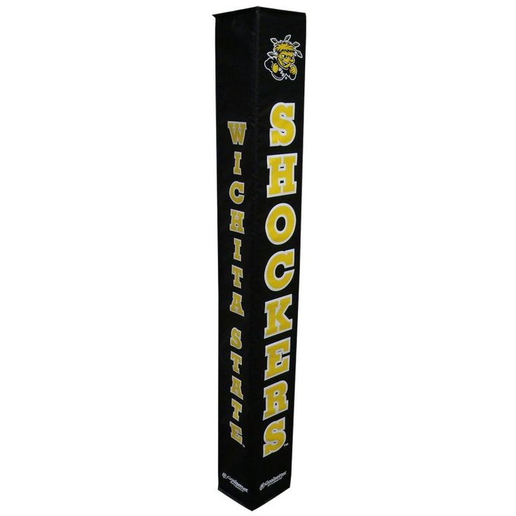 Goalsetter Wichita State Shockers Basketball Pole Pad, Black