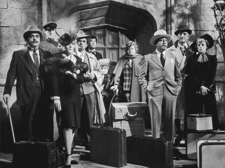 Murder by Death cast!  Love, love, love, Maggie Smith and David Niven!