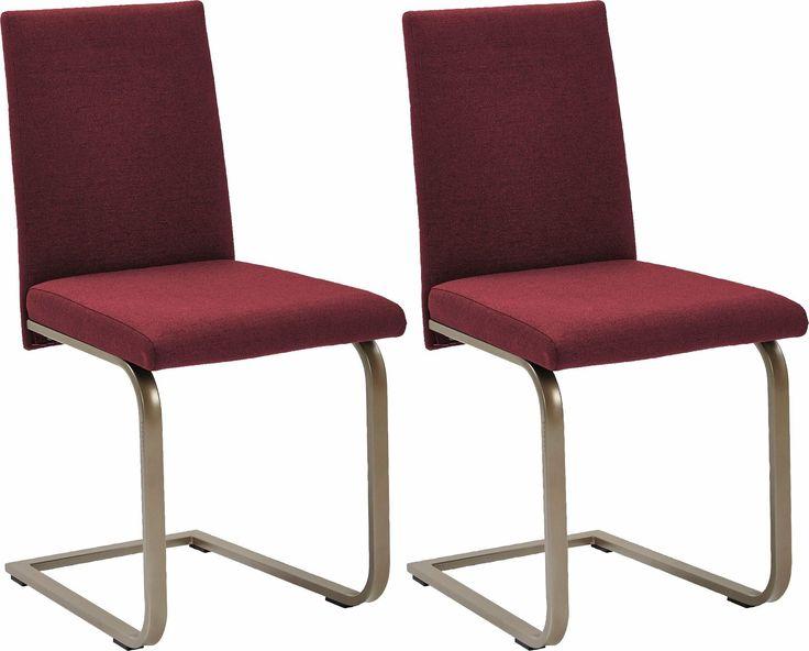 SCHÖSSWENDER Stühle (2 Stück) rot, FSC®-zertifiziert Jetzt bestellen unter: https://moebel.ladendirekt.de/kueche-und-esszimmer/stuehle-und-hocker/freischwinger/?uid=762d95c9-8776-540b-ba45-1b577515a044&utm_source=pinterest&utm_medium=pin&utm_campaign=boards #freischwinger #stühle #kueche #esszimmer #hocker #stuehle