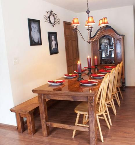 Farmhouse Table: Dining Rooms, Farms House, Tables Plans, Diy Furniture, Kitchens Tables, Farmhouse Tables, Farms Tables, Ana White, Dining Tables