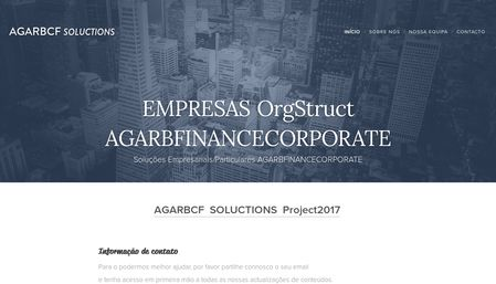 project AGARBCF-agarbcf.solutions-agarbfinancecorporate