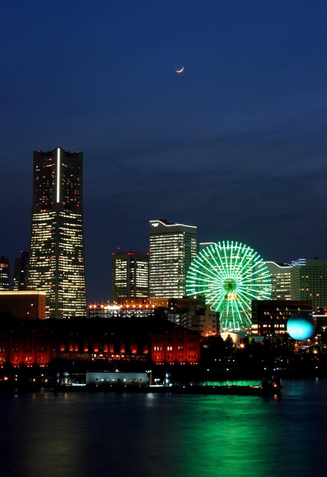 Yokohama, Japan - just 15 miles from our home in Yokosuka