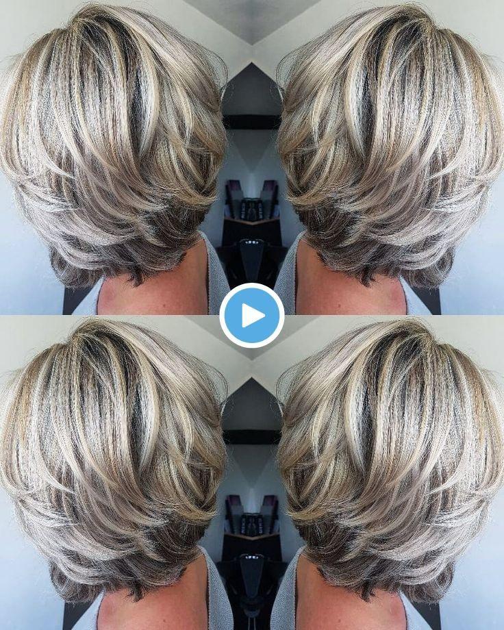 J 39 Adore La Couleur Et La Coupe Coiffures Cheveux Gris Coupe De Cheveux Coupe De Cheveux Courte
