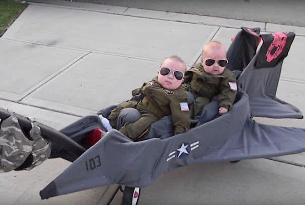 Top Gun Baby Costume